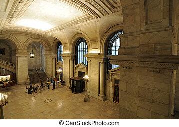 új york általános library