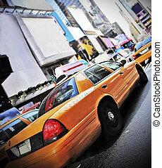 új york taxizik