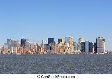 új york város, manhattan, belvárosi
