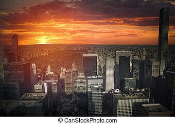 új york város, manhattan