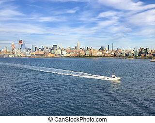 új york város, manhattan, usa