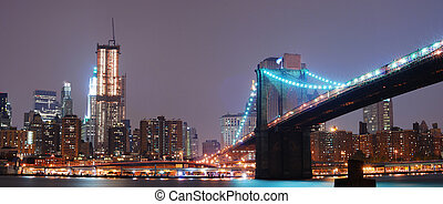új york város, panoráma
