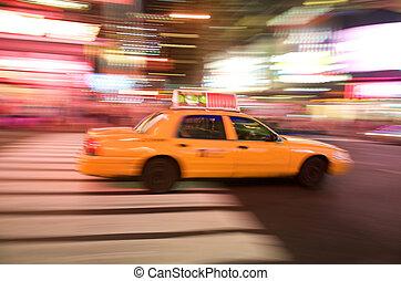 új york város taxi