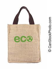 újra hasznosít, táska, ökológia, bevásárlás, usa