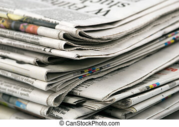 újság, kazal