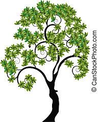 único, árvore
