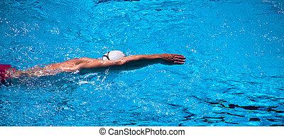 único, nadador