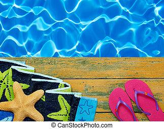 úszás, idő