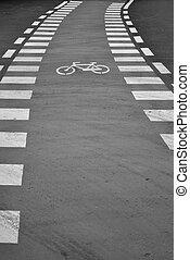út bicikli