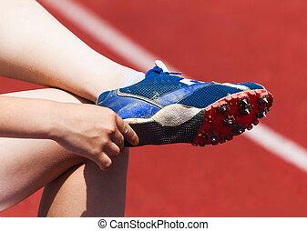 út cipő