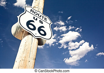 útvonal 66, aláír