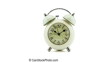úzkost, běloba grafické pozadí, hodiny