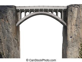 überbrücken, lücke