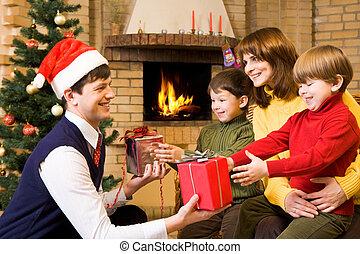 überraschung, weihnachten