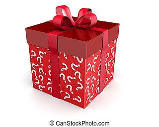 überraschungen, geschenk, begriff, geheimnis