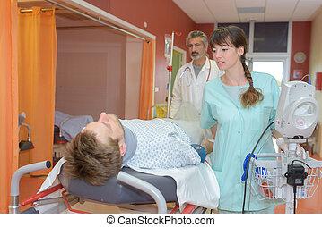 übertragung, patient