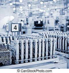 übertragungen, fabrik