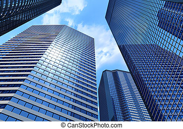 ügy, épületek