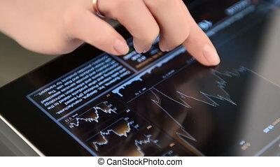 ügy, adatok, képben látható, tabletta pc