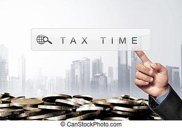 ügy, kéz, megható, keres hajtómű, bár, noha, adók, keyword