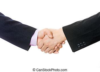 ügy, kézfogás