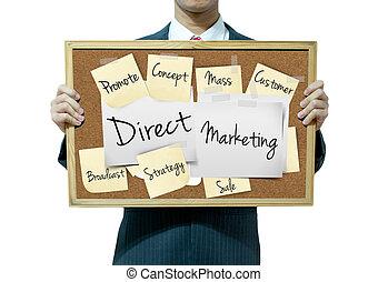 ügy, marketing, közvetlen, háttér, bizottság, birtok, ember