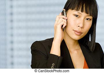 ügy woman telefon