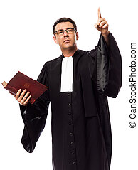 ügyvéd, ember, portré