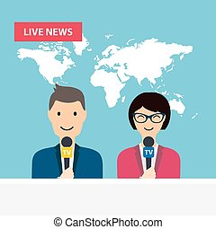 ül, tv, asztal., bemutatók, él, női, hír, hím, news., world.