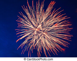 ünneplés, tűzijáték