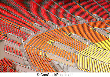üres, stadion