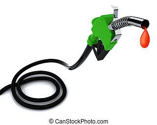 üzemanyagpumpa, csepp, vér