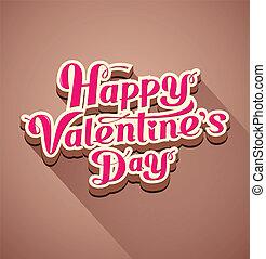 üzenet,  modern, Nap,  valentine's