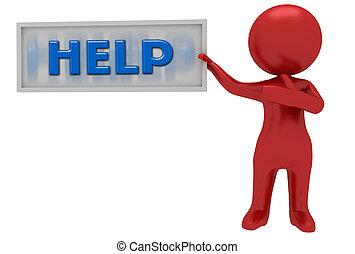 üzenet, segítség