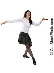 üzletasszony, tánc