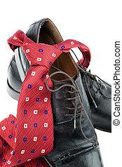 üzletember, cipők