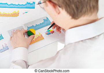 üzletember, elemzés, ábra