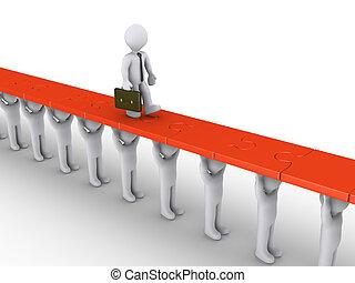 üzletember, van, segített, alatt, parancs, to succeed