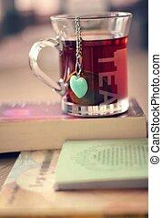 čaj, číše