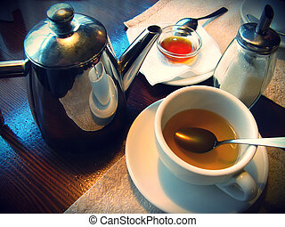 čaj číše