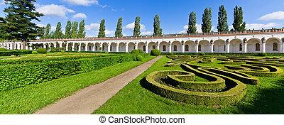 čech, kromeriz, květ, republika, zahrada