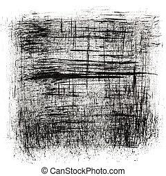 čerň, abstraktní, grafické pozadí