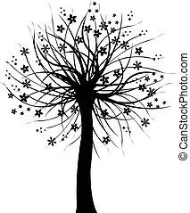 čerň, strom