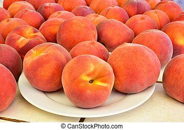 čerstvý, šťavnatý, donášet, ovoce