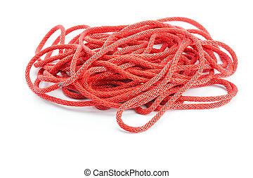 červeň, lano