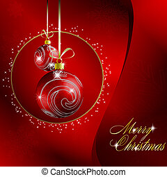 červeň, merry christmas, grafické pozadí
