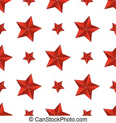 červené šaty grafické pozadí, seamless, hvězda