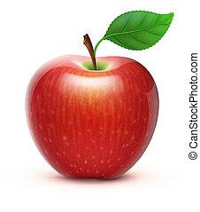 Klipartove S Seriove Ilustrace S Tematem Cervene Saty Jablko 20 601