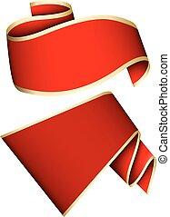 červené šaty lem, dát