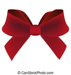 červené šaty poklona